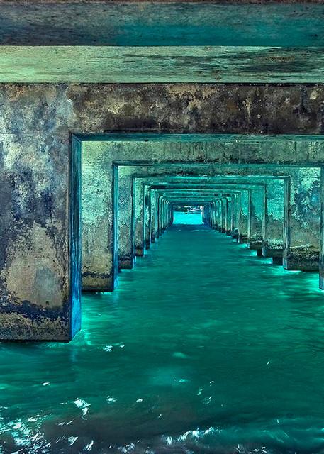 Beneath The Pier Photography Art   Inspiring Images