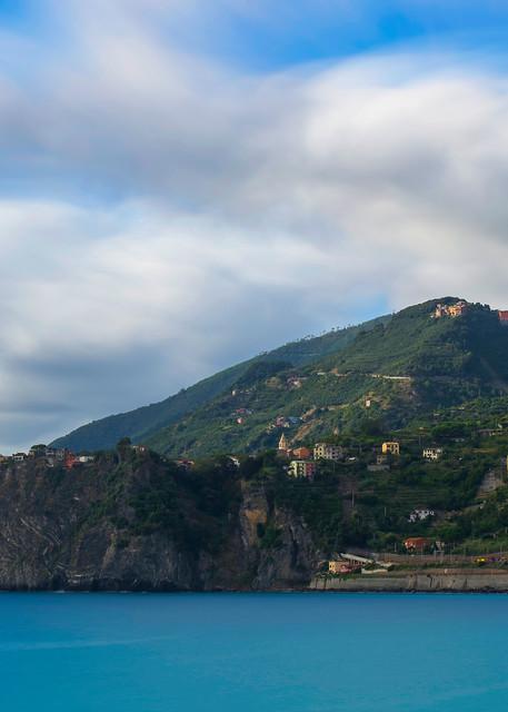 Corniglia Dreaming Cinque Terre Italy Art Print