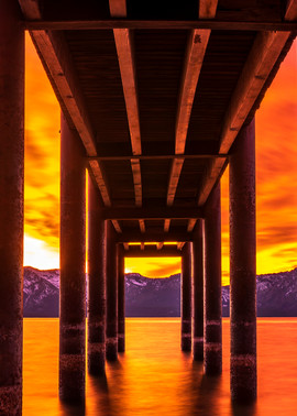 Window of Perfection Lake Tahoe Print by Brad Scott