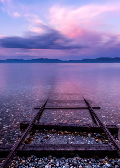 Tracks to Tahoe,  Lake Tahoe print by Brad Scott