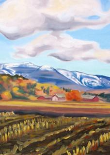 Autumn Snow Art for Sale