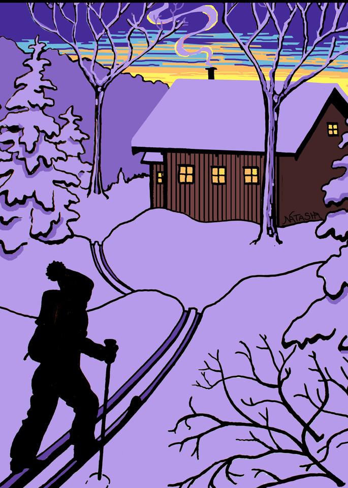 Backcountry Cabin Art for Sale