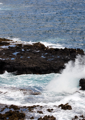 Dancing waves, waves, crashing waves, Hawaii