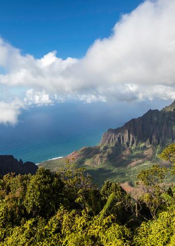Kauai, Kalalau, Napali, clouds