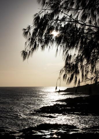 dusk, ocean, sunset, Hawaii