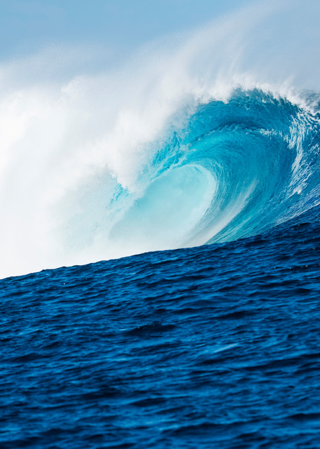 Thundercloud, Cloudbreak Fiji Print by Brad Scott
