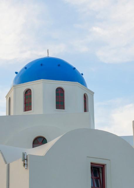 Oia Blue Roof, Santorini Greece Fine Art Photo print by Brad Scott