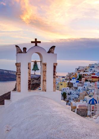 Oia Sunset, Santorini Greece Fine Art Photo Print by Brad Scott