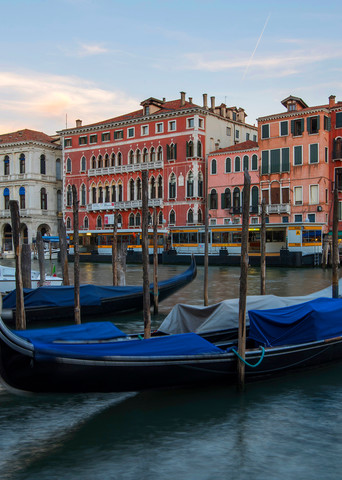 A Sunset in Venice, Venice Italy Panoramic Photograph by Brad Scott