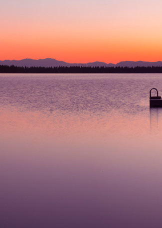 Fallen Leaf Lake Sunrise, Photo art print