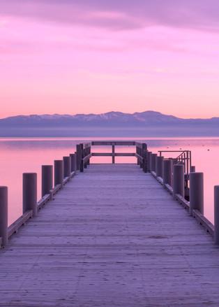Morning Glory, Lake Tahoe Photo art print