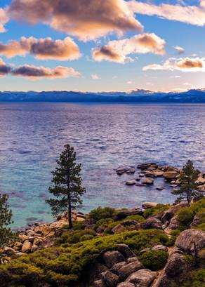 Heavenly Glow, Sand Harbor Lake Tahoe Photo Print