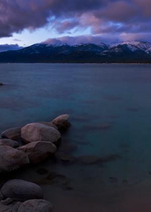 Tahoe Shore, East Shore Lake Tahoe Photo Art Print