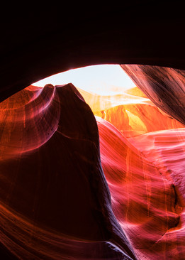 The Layer, Arizona Slot Canyons Fine Art Print