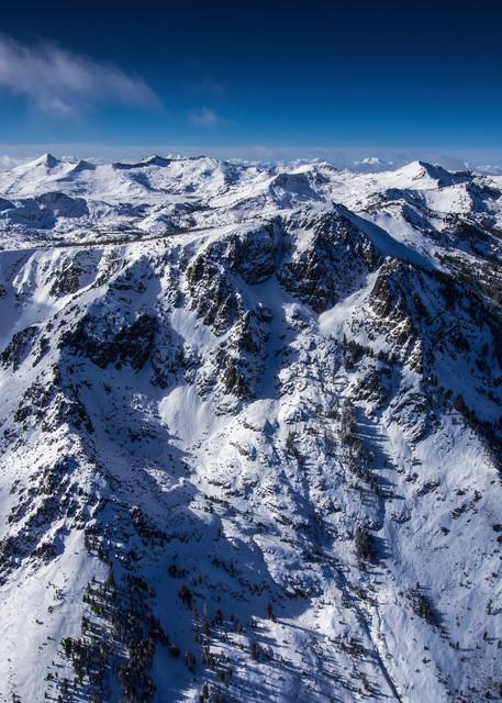 The Cross Mt Tallac Aerial, Lake Tahoe Fine Art Photo Print