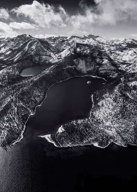 Limited Edition Emerald Bay Lake Tahoe Photo Print - Black Emerald
