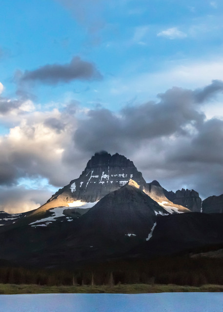 Mt Wilbur, Swift Current Lake, Glacier National Park
