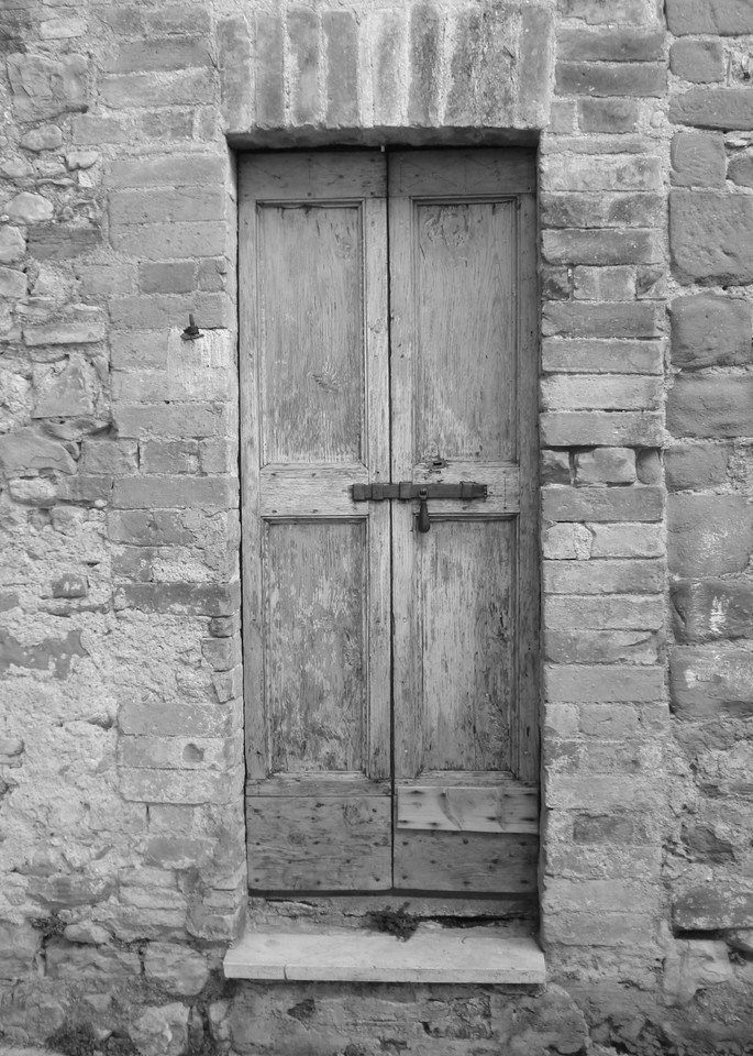 italy door ancient old wood stone
