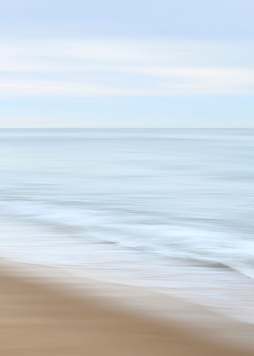 """Soft Crash"" - Soothing Cape Cod beach wall art"