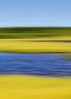 """Folger's Marsh"" - Abstract Nantucket Landscape Photography"