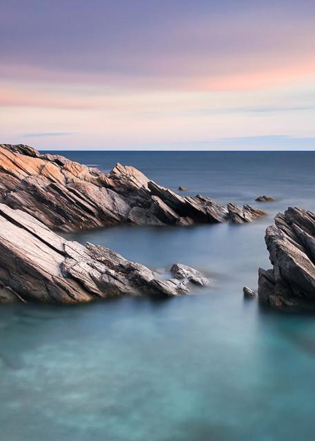 """""""Windward Rocks"""" Rhode Island Seascape Photograph by Katherine Gendreau"""