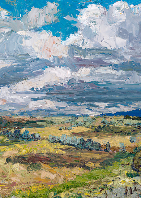 On Blueberry Hill Art | Fine Art New Mexico