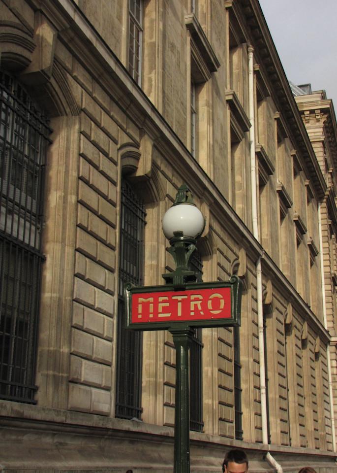 Metro Sign, Paris #1 Photography Art | Photoissimo - Fine Art Photography