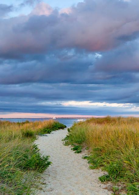 """""""Jetties Beach Path"""" - Fine art Nantucket dunes photograph"""
