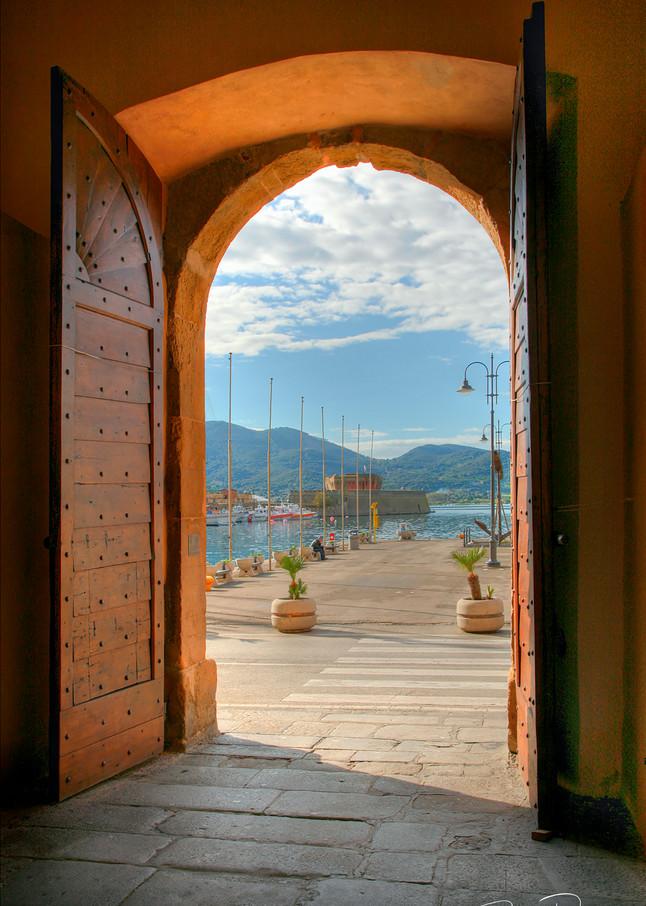 Porta del Cielo -Elba, Italy - Doors, fine art photograph for sale