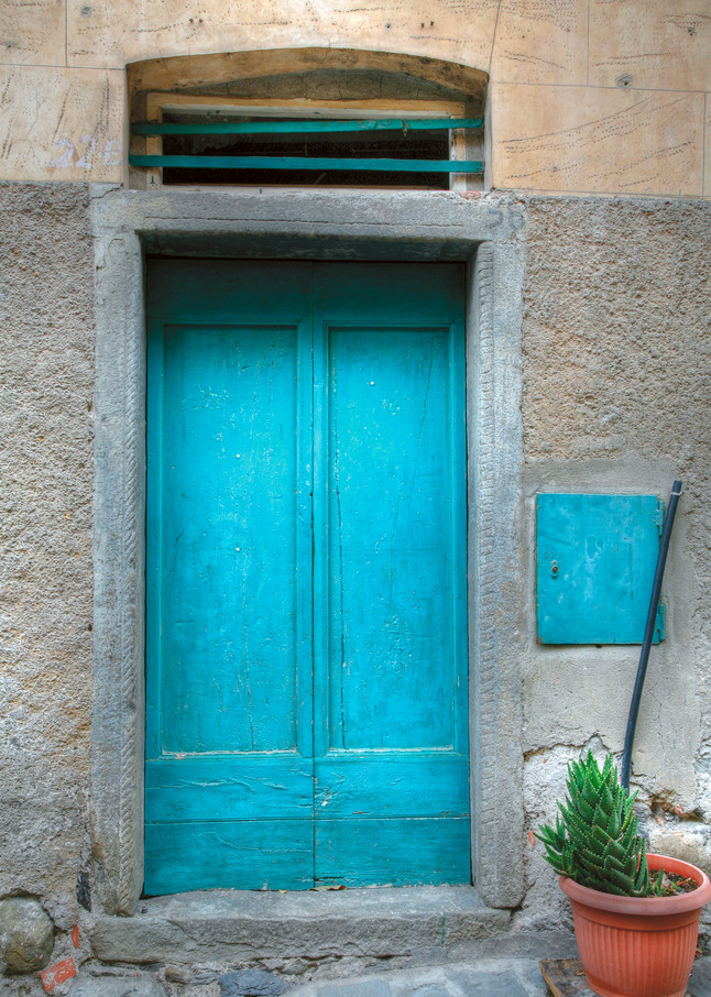 Blue Door Photographs for sale as fine art by Tony Pagliaro