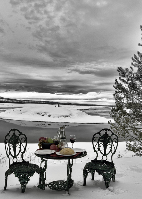 The Table Photographs Harriman - A Day Between - Fine Art Prints on Metal, Canvas, Paper & More By Kevin Odette Photography