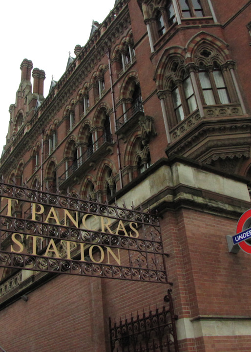 Welcome To St. Pancras Station Photography Art | Photoissimo - Fine Art Photography