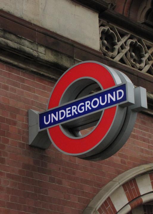 Tube Sign London #1 Photography Art | Photoissimo - Fine Art Photography