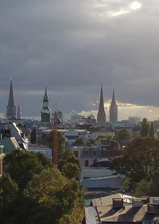 Hamburg Skyline #5 Photography Art   Photoissimo - Fine Art Photography