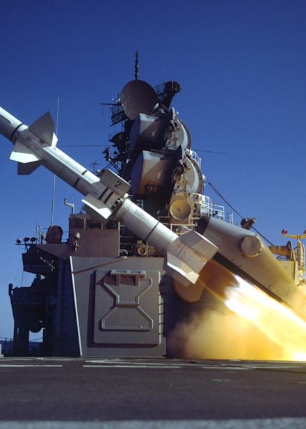 Talos Missile Launch photograph for sale as Fine Art.