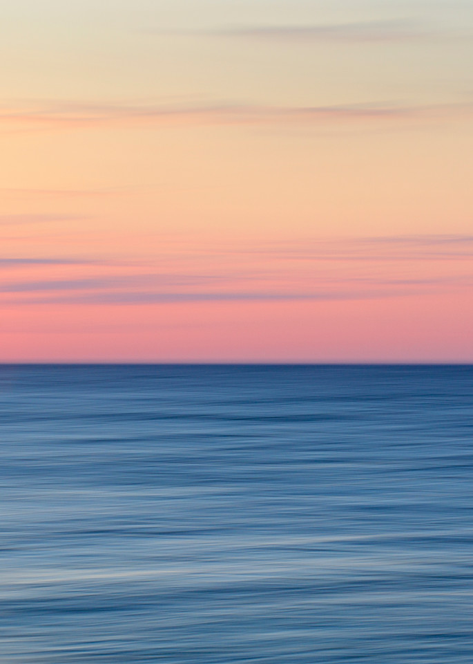 """""""Race Point Sunset II"""" Cape Cod Abstract Beach Art Photograph by Katherine Gendreau"""