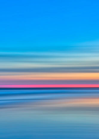 The captivating morning light of the Atlantic Ocean.
