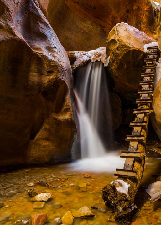 Kanarra Creek Falls (horizontal)