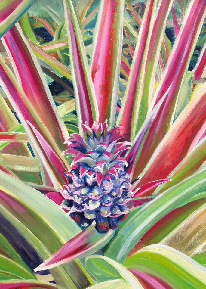 Pineapple Flower Art for Sale