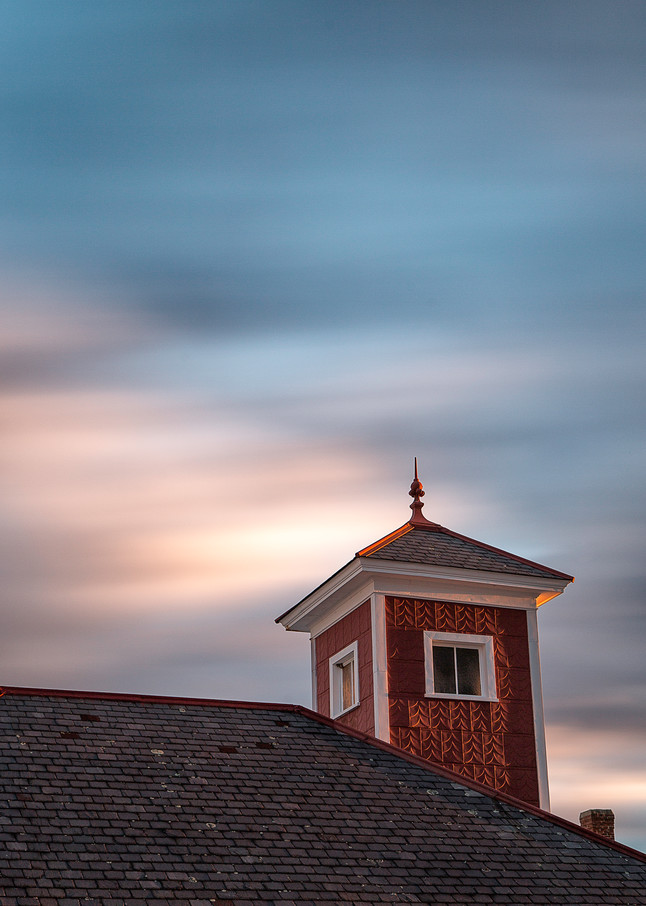 Shaker Village Red Roof