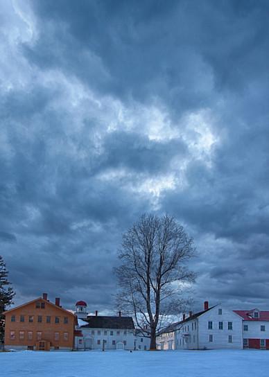 Stormy Shaker village, Canterbury, ?=NH