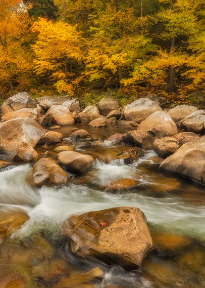White Mountain River in Fall