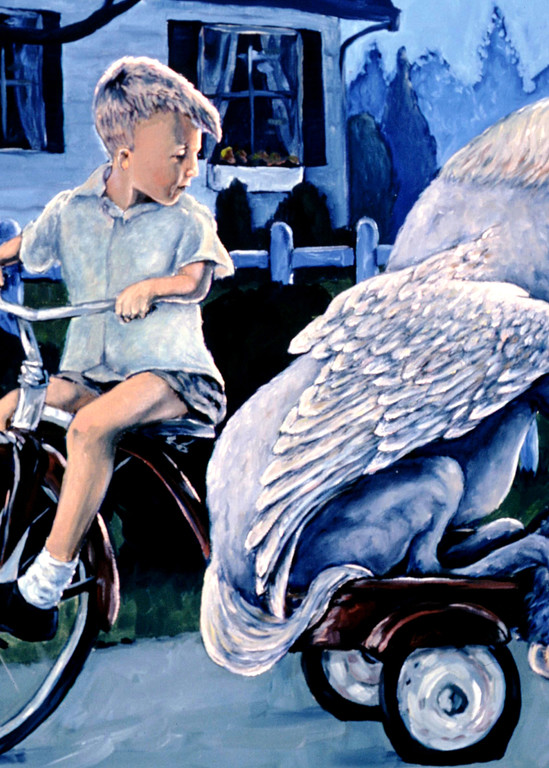 Keeping Secret, a boy and his pegasus