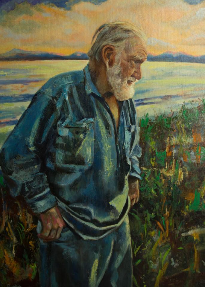 Silver Jack, Seaside, Booker Tueller, art, paintings