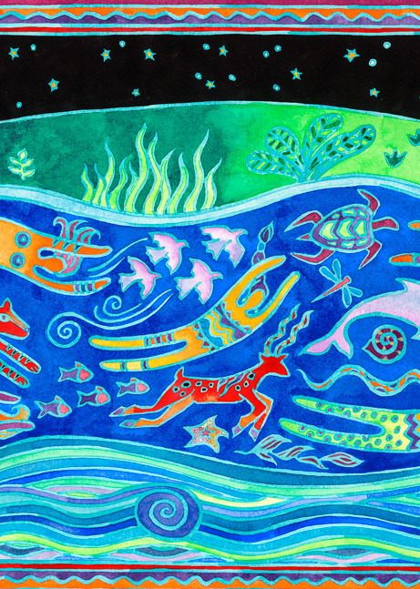 The River Of Life Art | Fine Art New Mexico