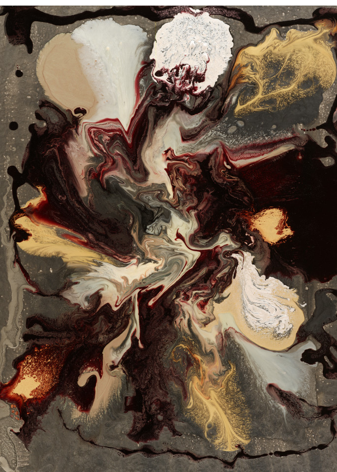 Rosyne Original Abstract Art