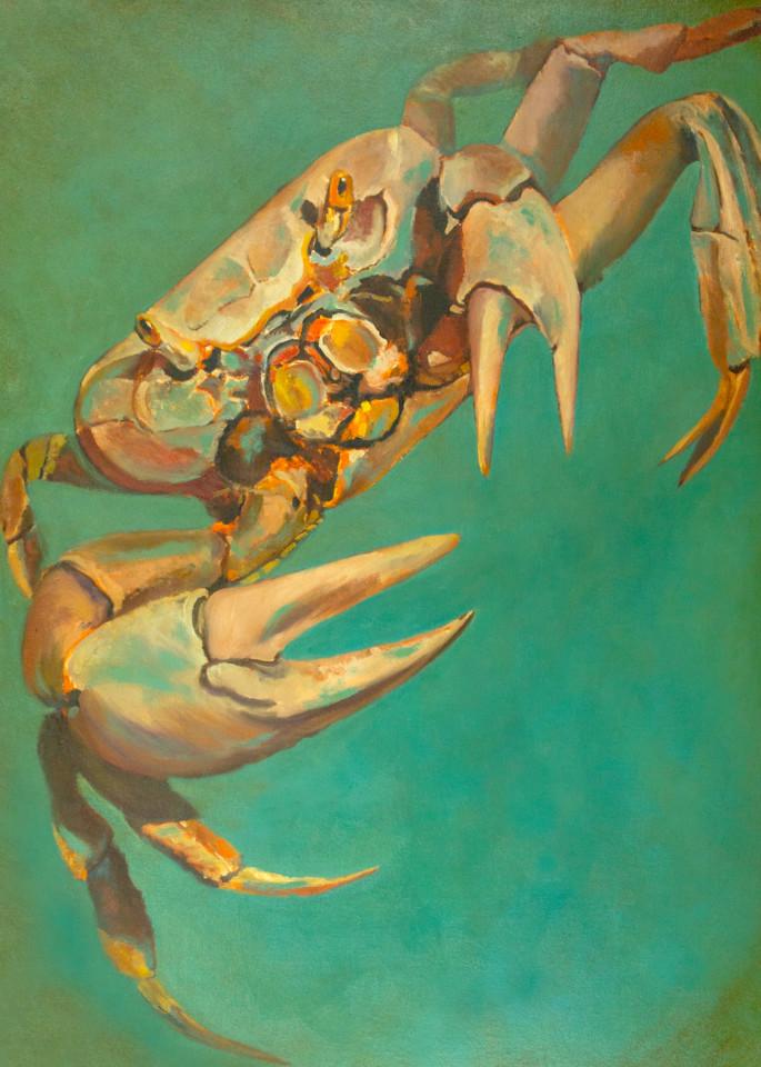 Booker,Tueller,seaside,crab,scavenger,art,paintings