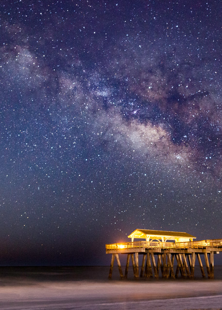 Milky Way above the Pier