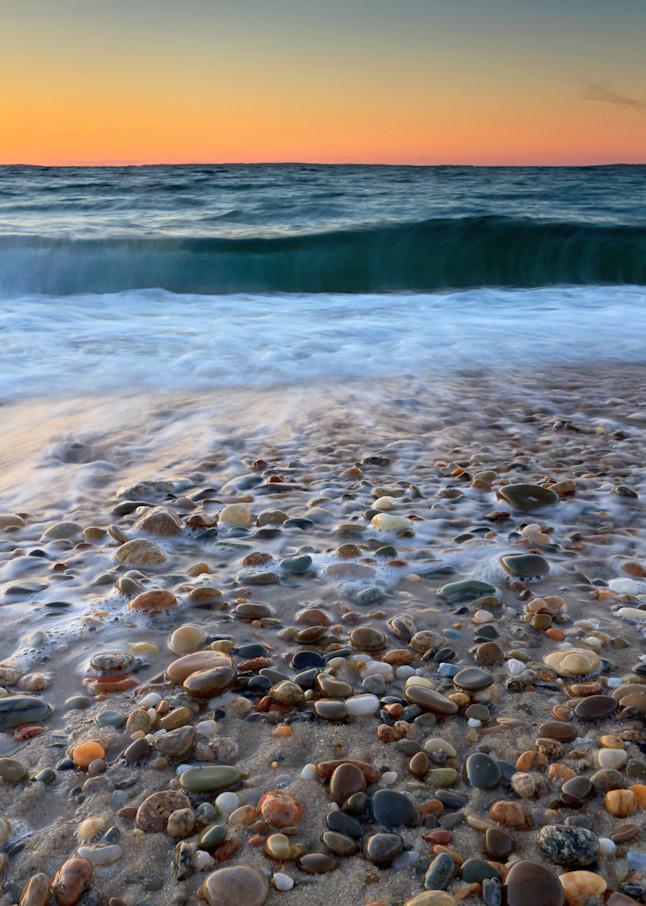 """Menemsha Beach Sunset"" Martha's Vineyard Fine Art Photograph"