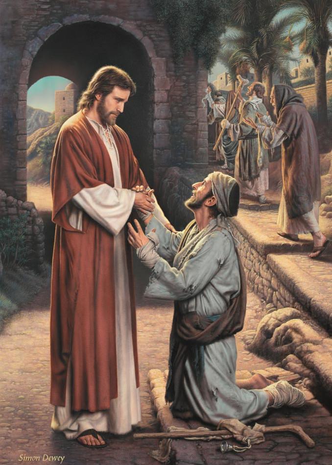 The Grateful Leper